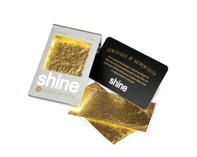 Die exklusiven Shine Gold Papes im Pack mit zwei Papes.