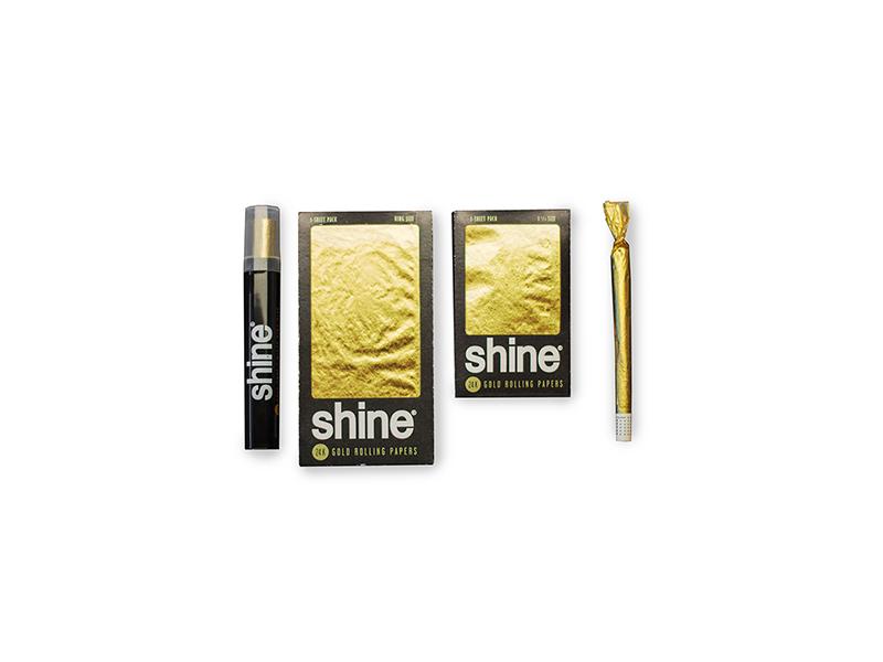 Shine Gold Papers - bei Rolls 69 in allen Größen erhältlich.